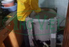 Vệ sinh máy giặt cửa trên tại Quận 12 – Quần áo giặt sạch sẽ hơn