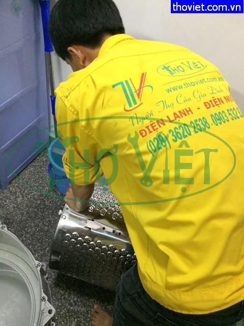 Vệ sinh máy giặt quận 1 – giảm điện năng tiêu thụ