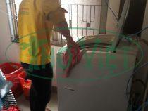 Vệ sinh máy giặt – tiết kiệm tiền nước tại quận Bình Tân