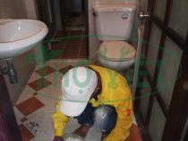 Chống thấm nhà vệ sinh tại quận 4 – Xử lý phễu thoát sàn