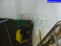 Vệ sinh bể nước ngầm tại quận 3 – Súc rửa cặn bẩn lâu ngày