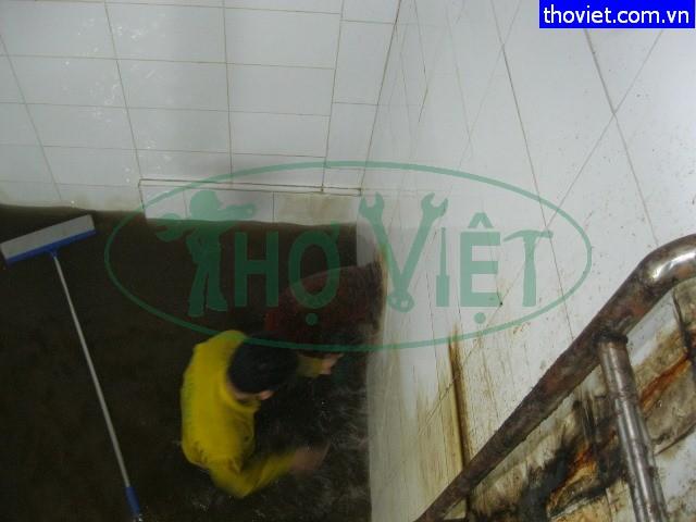 Vệ sinh bể nước ngầm tại quận 3 chuyên nghiệp
