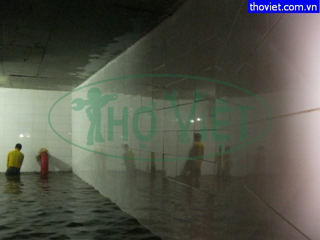 Vệ sinh bể nước ngầm tại quận 3 giá rẻ tphcm