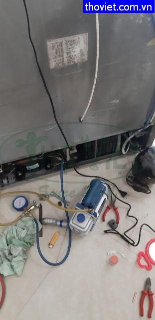 Sửa tủ lạnh samsung side by side bị hư block tại quận 11