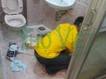 Chống thấm nhà vệ sinh, toilet tại quận Gò Vấp – Bồn cầu lắp sai kỹ thuật