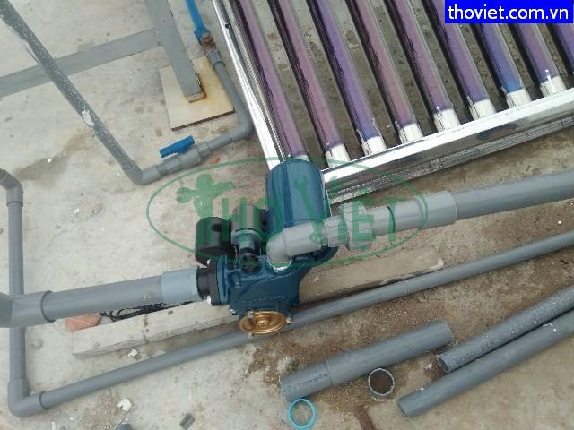Lắp đặt máy bơm nước tăng áp cho bồn nước tại quận 2
