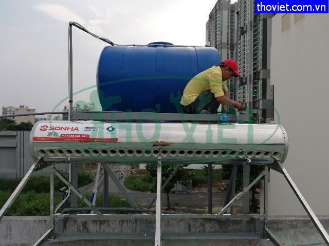 Lắp đặt sửa chữa bình nước nóng năng lượng mặt trời