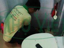 Chống thấm nhà vệ sinh tại quận 2 – Lắp đặt phễu thoát sai kỹ thuật