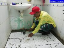 Chống thấm nhà vệ sinh tại quận 3 – Sửa chữa sàn toilet