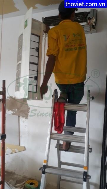 Thợ tháo lắp máy lạnh tại quận Gò Vấp