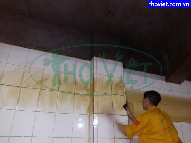 vệ sinh bể nước ngầm tphcm