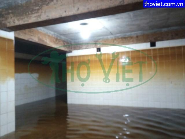 vệ sinh bể nước ngầm tại quận 10