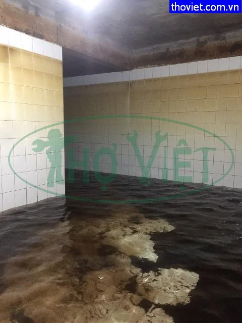 vệ sinh bể nước ngầm tại quận 10 tphcm