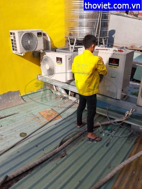Tháo lắp máy lạnh âm trần Quận Gò Vấp sang Quận 6