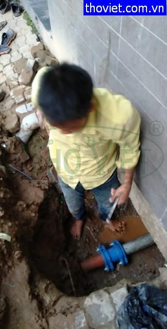 Dò tìm ống nước bể tại quận 6 – Rò rỉ gây thất thoát nước