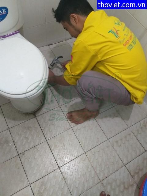 Sửa bồn cầu lắp sai kỹ thuật tại quận Gò Vấp