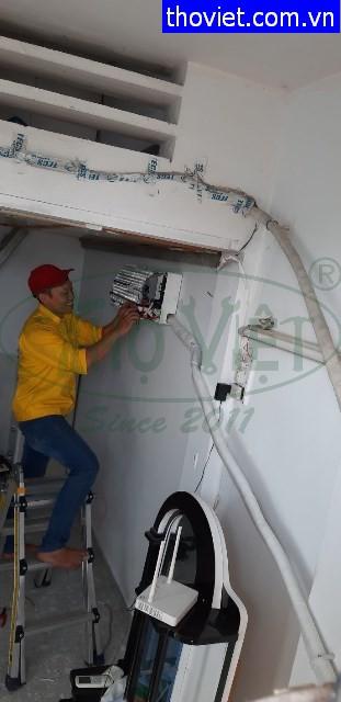 Lắp đặt máy lạnh treo tường – Vệ sinh máy âm trần tại quận 2