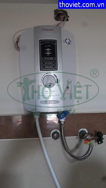 Sửa máy tắm nóng bị hư van khóa nước tại quận 2