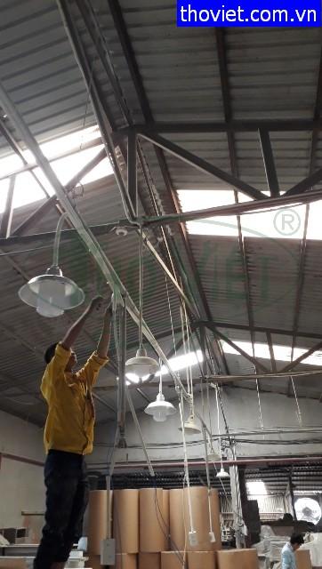 Thợ lắp điện quận 3 – Lắp đặt hệ thống điện nổi tại nhà xưởng