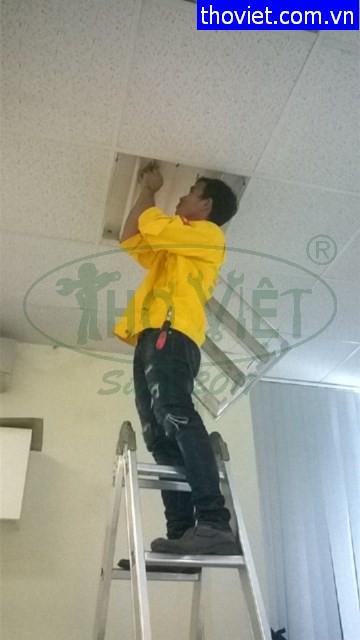 Thợ sửa điện tại Gò Vấp – thay bóng đèn tuýp ốp trần