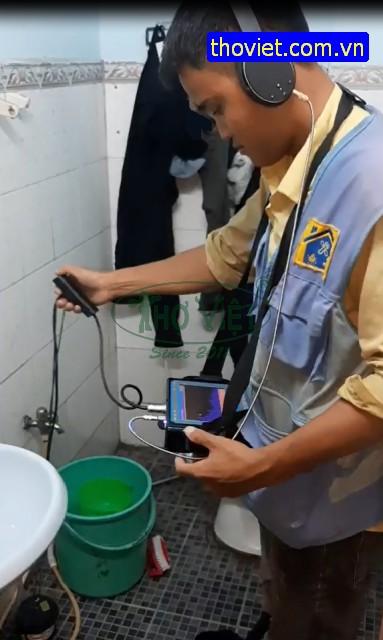 Xác định ống nước bể ngầm bằng máy dò chuyên dụng