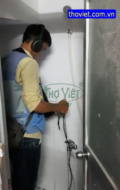Thợ Dò tìm thất thoát nước xử lý nước sạch thất thoát, nguyên nhân làm tăng tiền nước.