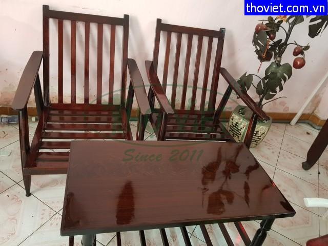 Sơn bàn ghế gỗ tại quận Tân Bình