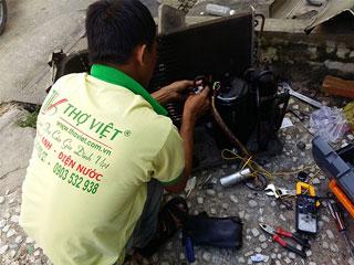 Dịch vụ sửa máy lạnh máy điều hòa, thợ sửa máy lạnh giá rẻ tại TP Hồ Chí Minh