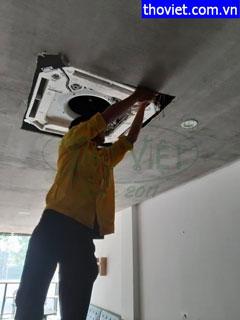 Thợ tháo lắp máy lạnh âm trần, tháo máy lạnh treo tường giá tốt tại TPHCM