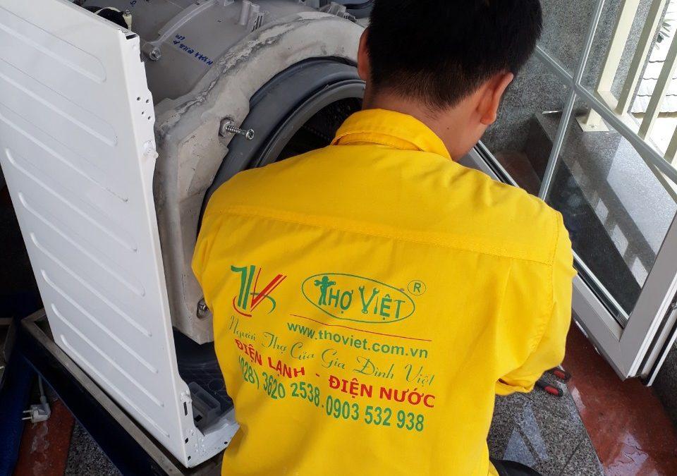 Máy giặt không xả được nước do nguyên nhân nào?